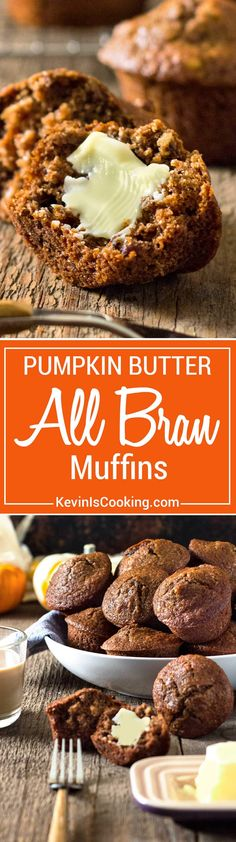Super moist and loaded with pumpkin flavor and spices, these are great for breakfast with coffee and some fruit. Spread with a little butter to melt in and enjoy the holidays! Buttermilk and Pumpkin Butter are the secret!