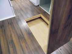 This is a 160 sq. ft.Birchwood tiny house on wheels. From the outside, you'll notice cream board and batten siding and a maroon front door. When you go inside, you'll find a kitchen, l…