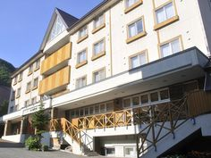 Asahikawa Sounkyo Onsen Yumoto Ginsenkaku Japan, Asia The 3-star Sounkyo Onsen Yumoto Ginsenkaku offers comfort and convenience whether you're on business or holiday in Asahikawa. The hotel offers a wide range of amenities and perks to ensure you have a great time. To be found at the hotel are facilities for disabled guests, luggage storage, car park, meeting facilities, BBQ facilities. Designed for comfort, selected guestrooms offer television LCD/plasma screen, air condition...