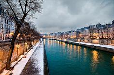 Paris, France. Seine river