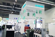 SIEMENS - Demage global exhibitions - stand design,Stand building,Exhibition stand