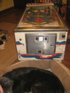 Recycled Coffee Table Pinball Machine