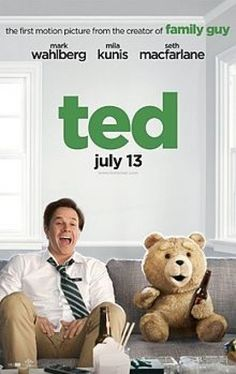 Ted(2012) Movie - OMG this movie had me cracking up laughing. Totally NOT a kid movie, but enjoyed it so much. Needed a movie like this to make me laugh.