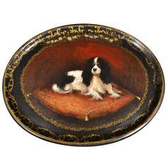 Platter of Cavalier King Charles Spaniel