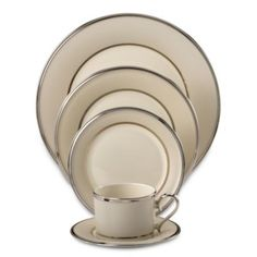 Lenox® Ivory Frost™ Dinnerware Collection - BedBathandBeyond.com
