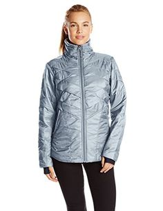 Columbia Womens Kaleidaslope II Jacket Tradewinds Grey XSmall *** Want additional info? Click on the image.(This is an Amazon affiliate link)