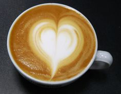 Latte Art Herz