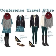 """Travel to Conference Set"" by boardroombelles on Polyvore"