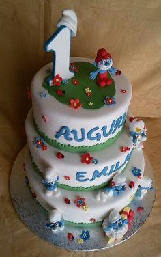 Torta Puffi