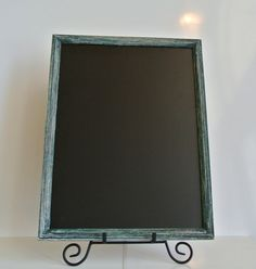 Up Cycled Frame Chalk Board / Black Board / Message by 4allseasons, $24.99