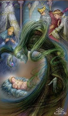 Sleeping Beauty, fairy tales