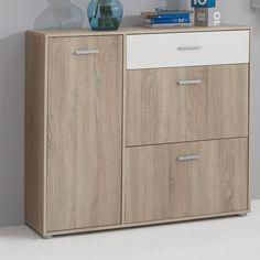 Bozen4 Hallway Canadian Oak Shoe Cabinet