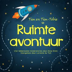 Tim en Tim-Tobie besluit om 'n speel-speel ruimtetuig te bou. Maar toe die ruimtemannetjie, Bibi, die ruimtetuig in die tuin kry, vra hy of hy dit kan leen. Stories For Kids, English, Adventure, Reading, English English, Stories For Children, Word Reading, English Language, Adventure Game