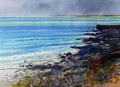 Richard Thorn - Newlyn - watercolor