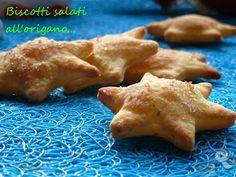 Puffin in cucina e non solo...: Biscotti salati all'origano....piccole stelle per uno sfizioso Natale