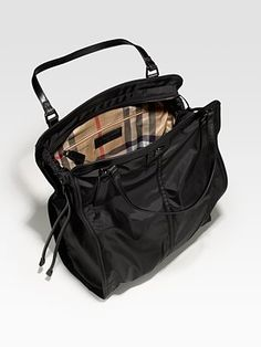 ah, i think this is my next work bag! burberry nylon tote