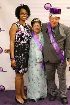 AngelaCARES 3rd Annual Senior Citizens Prom!  #prom #queen #king