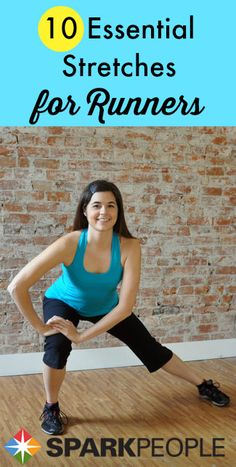 Don't skip that post-run stretch! Here's a feel-good routine that takes just 10 minutes. Designed for runners, it will actually work perfectly after any workout! | via @SparkPeople #fitness #exercise #video