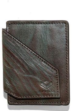 Men's J. Fold 'Water' Front Pocket Wallet - Blue