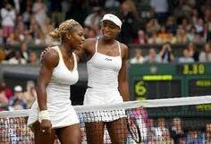 Williams sisters at Wimbledon
