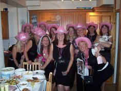 Hen Night 2008 - cow girl theme with party bags