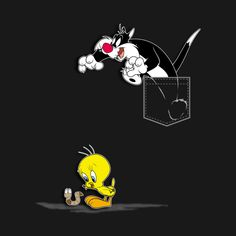 Check out this awesome 'That Cat and Bird Again' design on T Shirt Painting, Fabric Painting, Custom Design Shirts, Shirt Designs, Creative T Shirt Design, Frozen Art, Unique Hoodies, Unicorn Art, Funny Tee Shirts