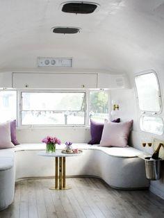 Vintage Airstream | Remodel Ideas | RV Travel | Interior Design