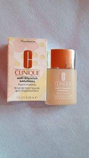 Elisabeth's Blog: Clinique Anti-blemish Solutions ( liquid makeup )