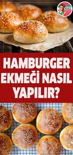 #ekmek #hamburger #fastfood Healthy Eating Tips, Healthy Nutrition, Vegetable Drinks, Fruits And Vegetables, Health Fitness, Tasty, Recipes, Food, Breads