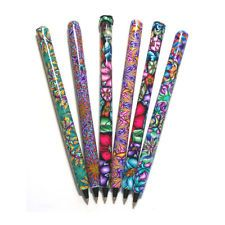 Items for sale by cathyharm Polymer Clay Pens, Charmed, Floral, Image, Ebay, Bonito, Flowers, Flower