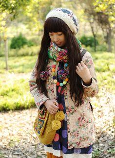 colorful mori girl <3