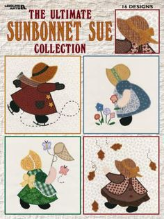 Prairie Cottage Corner Free Quilt Block Applique Sunbonnet Sue Designs