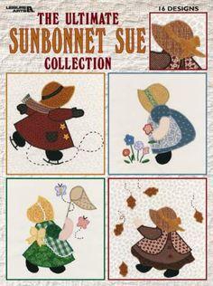Prairie Cottage Corner Free Quilt Block Applique Sunbonnet Sue Designs