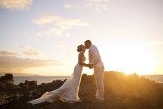 Bliss Maui Wedding - Anna Kim Photography - sunset beauty