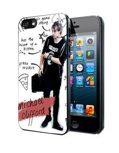Michael Clifford 5 Seconds Of Summer2 Samsung Galaxy S3 S4 S5 Note 3 Case, Iphone 4 4S 5 5S 5C Case, Ipod Touch 4 5 Case