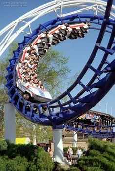 Corkscrew - Cedar Point #rollercoaster love