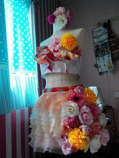 WIP AKB48 Flying Get Fleur Costume. By kyorinday.com