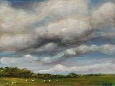 Irish Art, Original Painting of Irish Landscape Irish Landscape, Irish Art, I Shop, Original Paintings, Clouds, The Originals, Outdoor, Outdoors, Outdoor Living