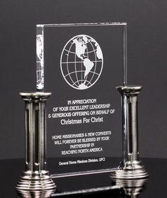 ASAP Awards - Crystal glass Pillar Award  26C, $109.00 (https://www.asapawards.com/crystal-pillar-award-plaque-26c/)