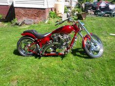 Chris Bransfield's Sweet Custom | Totally Rad Choppers