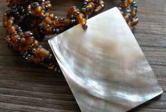 Big Pearl Shell Shells, Necklaces, Pearls, Big, Conch Shells, Seashells, Beads, Sea Shells, Collar Necklace