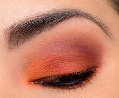 Zoeva Matte Palette Look - Temptalia Beauty Blog: Makeup Reviews, Beauty Tips