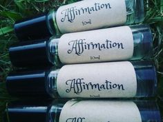 AFFIRMATION OIL- Beautiful blend of essential oils with natural carrier oil