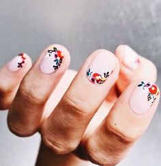 Nail Inspo LOVING the floral SHOP ONLINE TODAY AT www.willowandkate.com.au BUY NOW PAY LATER with zipPay EXPRESS DELIVERY ALL ORDERS AUSTRALIA WIDE #willowandkate