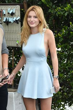 Bella Thorne and her new boyfriend Gregg Sulkin are seen on July 21, 2015 in Los Angeles, California.