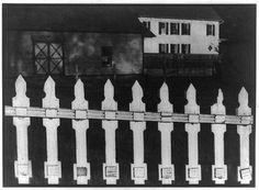 Paul Strand, White Fence, Port Kent, New York (1916)LC-USZ62-79450de la Biblioteca del Congreso de Estados Unidos