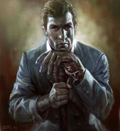 Isaac - concept art | Vampire the Masquerade: Bloodlines