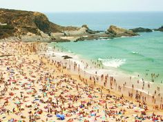 Crowded Beach by ~Rhoney7 on deviantART