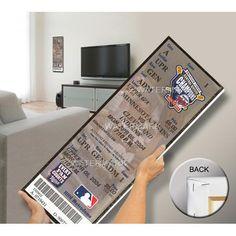 Joe Mauer Major League Debut Mega Ticket - Minnesota Twins