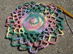 Crochet Patterns Using Mandala Yarn : Mandala Market - Free #Mandala #Crochet Pattern Roundup http://www ...